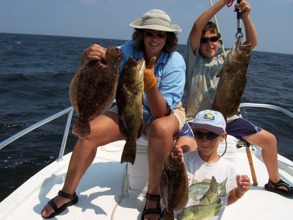 Flounder and Grouper