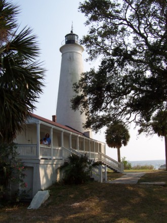 St. Marks Lighthouse - always a good site to see